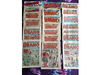 Various Beano, Dandy, Topper and Whizzer comics