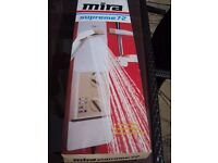 MIRA SUPREME 7.2 BRAND NEW IN BOX ELECTRIC SHOWER ONLY £20 FOR QUICK SALE