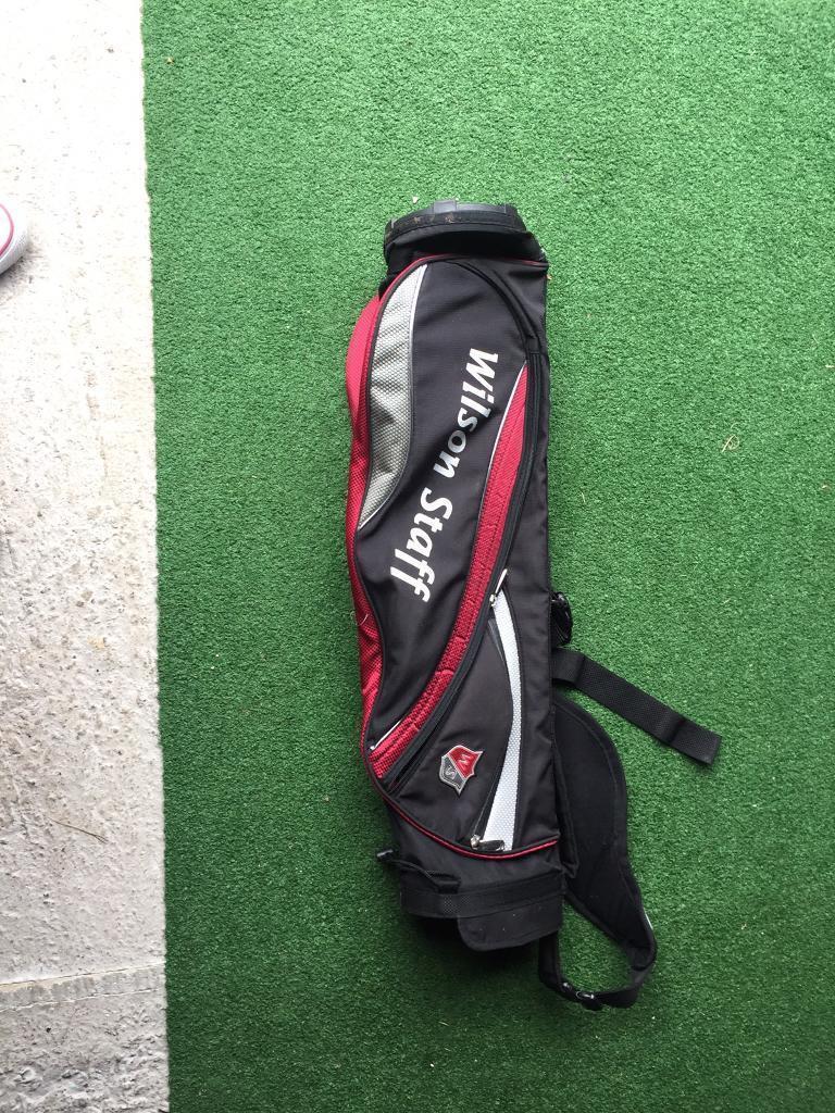 Wilson stafff pencil golf bag