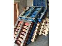 Pallets used about 10-12 or more Pick Up from supreme business park Levenshulme
