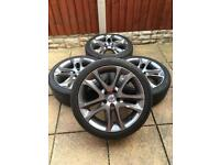 "5x108 18"" alloy wheels Volvo C30 Ford St Jag"