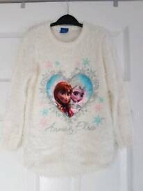 Disney frozen flashing light jumper