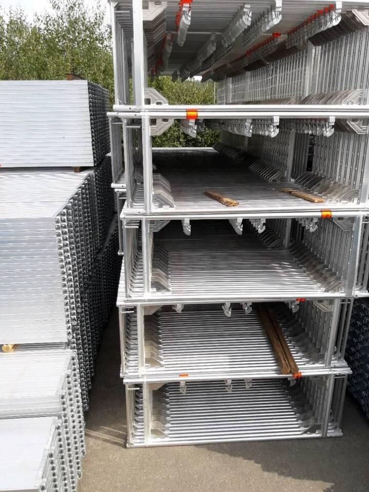 100m2 Gerüst Baugerüst kompatibel mit Layher oder Alfix in Lonnerstadt