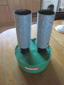 Twin Burner Parasene Greenhouse Heater
