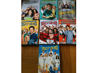 Dvds of scrubs and red dwarf