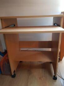 Portable TV / Computer / Printer table