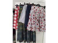 Bundle of 5 skirts - £15