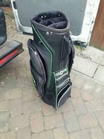 Hill billy golf trolley cart bag