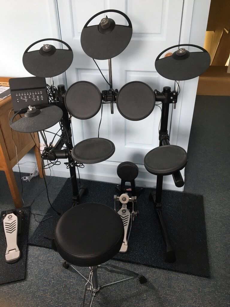 Yamaha electronic drum kit dtx450k plus extra cymbal for Yamaha dtx450k electronic drum set