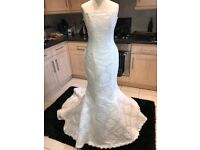 Maggie Sottero mermaid dress size 8 NEW