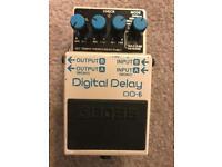 Boss DD-6 Digital Delay - Guitar Effects pedal