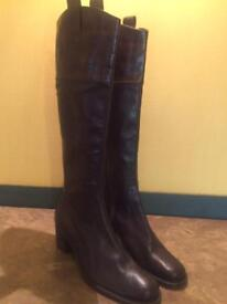 Russell and Bromley Brown Boots