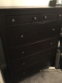 Ikea Hemnes Chest of 6 Drawers v.good condition
