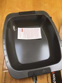 Analon 42cm nonstick roasting pan and rack - brand new, unused, in box