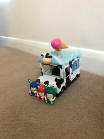 Oddbod ice cream van