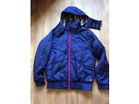 Adidas Blue Zip Coat/Jacket Size Medium