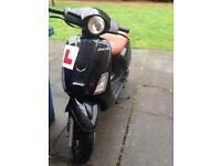 12 plate 125cc CPI BRAVO Moped