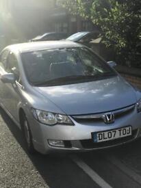 Honda Civic hybrid £10 road tax per year !! BARGAIN