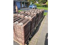 1000 reclaimed red Marley bold roll pan tiles