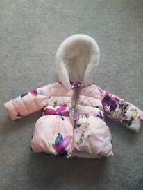 Ted Baker girls winter coat