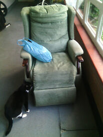 Reclining Chair Will Need Fixing Electrics Issue.