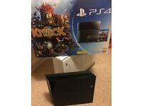 PS4 Jet Black 500GB with games.