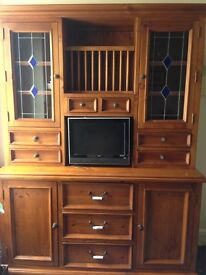 Dining table and matching dresser