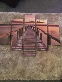 6 piece canvas
