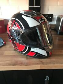 Box Helmets Motorbike Helmet (new hardly used)