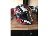 Box Helmets Motorbike Helmet (new hardly used)