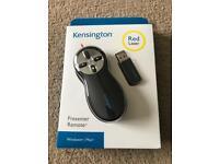 Kensington presenter remote