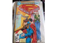Superman Man of Steel DC No.6 Vintage 1986