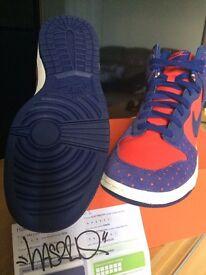 Nike Dunk High Skinny Print UK8 EU42.5 £30