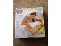 Used once baby folding bath sling