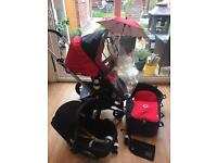 Bugaboo cameleon 3 in 1 travel system