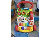 V-tech baby walker, used condition