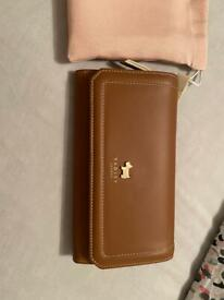 Brand new with tags Radley Purse with dust bag tan