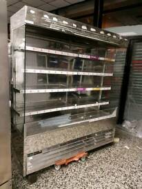 Commercial open chillers various sizes