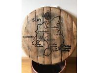 Whisky Barrel Lid