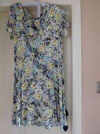 M & S Multi coloured dress - size 16