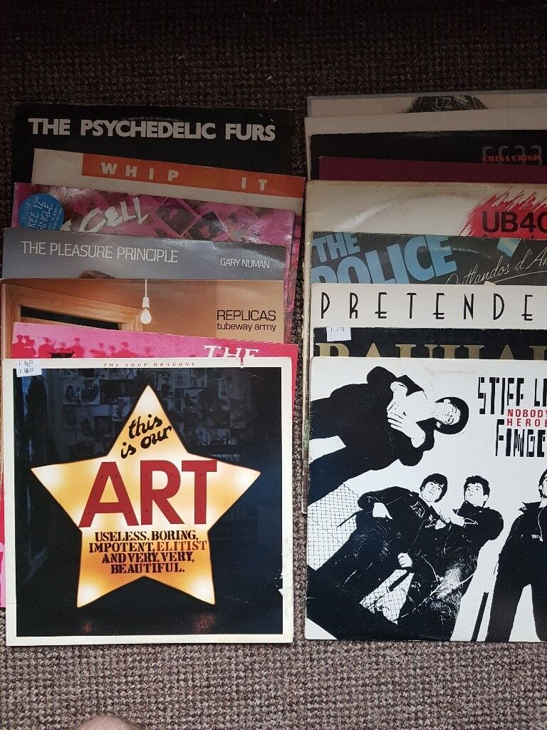 Post Punk New Wave Alt Rock Lps In Royton Manchester