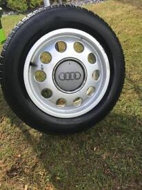 4x Audi Alloys