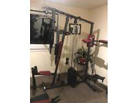 multi-gym , great condition 80 kg weight