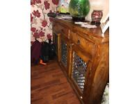 Jali Indian Dresser with 3 drawers and storage