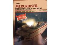 Merccriser stern drive manual