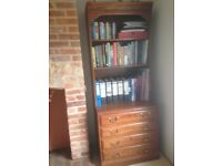Bookcase/filing cabinet