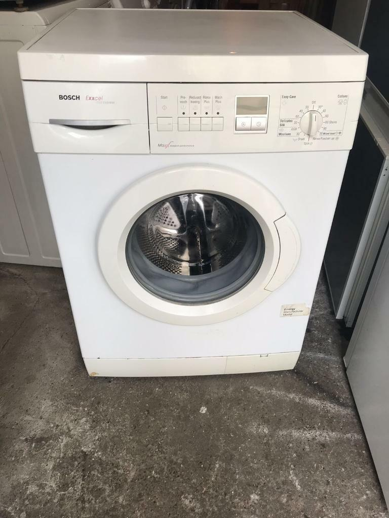 Bosch Exxcel Digital 1200 rpm 6KG Washing Machine With Free Delivery 🚚