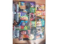 Buffy and Angel magazines from 2000's. Collectible