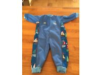Baby splash about wetsuit