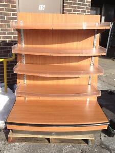 Wooden Display Stand/Rack,Shelf Merchandiser 3ft